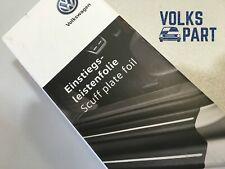 Originale VW Troc Pellicola Protettiva per Sottoporta/Nero-Argento/4 PEZZI Nuovo