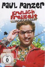 """PAUL PANZER """"ENDLICH FREIZEIT WAS FÜR'N STRESS"""" DVD NEU"""