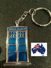 BRAND NEW 2017 DR WHO TARDIS SILVER KEYRING - AMAZING PRODUCT!! POLICE BOX 104W