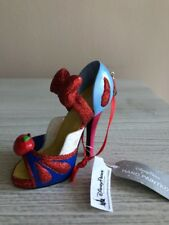 Disney Parks Snow White W Apple Runway Shoe Christmas Ornament New