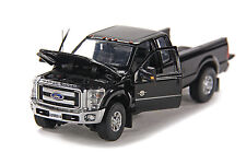 "Ford F250 Pickup Truck - Super Cab - 8 Ft Bed - ""BLACK"" - 1/50 - Sword #SW1100K"