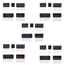 5pk Arduino R3 Uno Stackable Shield Headers; Stacking Stack Tall Header Kit USA