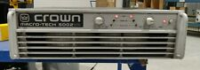 Crown MacroTech 5002Vz 2 Channel Professional Audio Power Amplifier