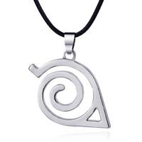Naruto Halskette Schmuck Juwel Anhänger Konoha Symbol Logo Leaf Village Cosplay