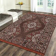 Handmade Chenille Living Dining Bed Room Rug Carpet Dhurrie 3 ft x 5 ft
