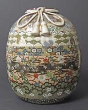 Japanese Porcelain & Enamel Vase Lot 56