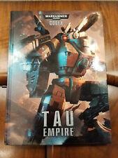 Warhammer 40k Tau Empire 6th Edition 2012 Hardcover