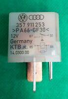 Audi VW Seat Silver Glow plugs Relay No 103 / 357911253 WLO Tunesia 50237003 OEM