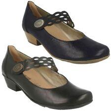 Suede Mary Janes Standard Width (D) Casual Heels for Women