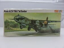 Frog ARADO Ar234 BLITZ JET BOMBER 1/72 Scale Plastic Model Kit UNBUILT Vintage