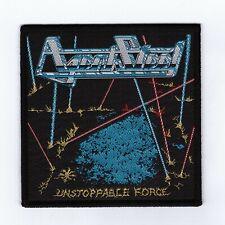 "Agent Steel ""Unstoppable Force Patch laaz rockit-razor-abattoir-destructor-anvil"