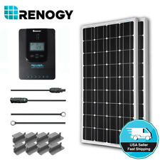 Renogy 200W Mono Solar Panel Starter Kit 40A MPPT 12V 24V Battery Charger System