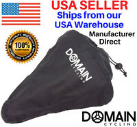 Bike Seat Cover, Waterproof Rain Bicycle Saddle Cover v2 - Domain Cycling