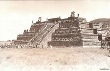 Postcard El Emperador Y Su Corte Teotihuacan Mexico
