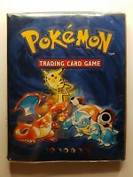 Pokemon Card Binder Album Folder Original WOTC 102 Base Set