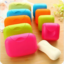 1Pc Portable Travel Soap Box Storage Holder Leak-proof Tray Candy Case Container