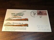 1951 GREAT NORTHERN EMPIRE BUILDER/WESTERN STAR ENVELOPE WITH SPECIAL CACHET