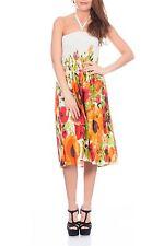Pistachio Ladies Printed 3 in 1 Summer Sun Beach Dress/ Long Skirt (D-619)
