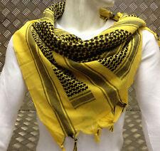 100% coton SHEMAGH / Arabe écharpe/PASHMINA/enveloppant/sarong. noir sur
