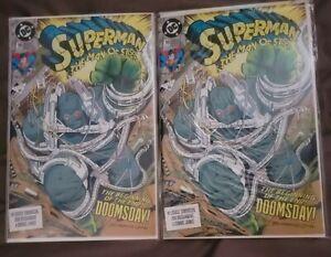Superman Man of Steel 18 x2 1st full Doomsday