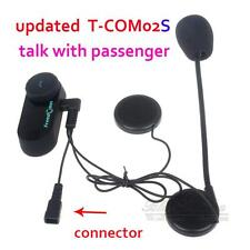 Updated BT Bluetooth Motorcycle Motorbike Helmet Headset Headphone T-COM02S