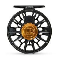 Ross Reels Animas Fly Fishing Reel 5/6 Wt. Stealth Black/Bronze