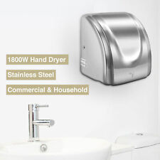 1800W High Speed Stainless Steel Commercial and Household Electric Hand Dryer