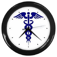 MEDICAL SYMBOL HEALTH DOCTOR MEDICINE ROUND WALL CLOCK **GREAT ITEM**