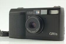 【Near Mint Read!】 Ricoh GR1s Black 35mm Point & Shoot Film Camera From Japan