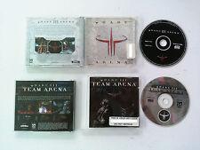 Quake 3 III Arena & team arena PC PAL FR