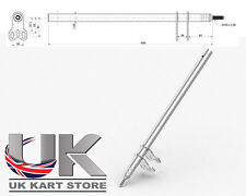 TonyKart / OTK Steering Column M10 x 490mm Top Quality UK KART STORE