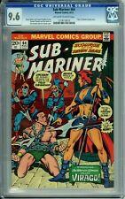 SUB-MARINER 64 CGC 9.6 BONDAGE COVER ATLANTIS Marvel Comics 19