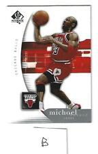 Michael Jordan Chicago Bulls 2005/06 Upper Deck SP Authentic #12 lot B