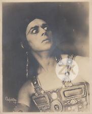 THEODOR KOSLOFF Danseur Aztèque Natacha RAMBOVA DeMille CARPENTER Photo 1917