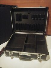Aluminum Frame Hair Stylist Toolboxes Salon & Spa Equipment Cases with Dividers