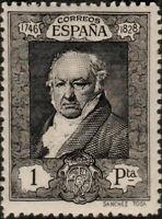 ESPAGNE / SPAIN / ESPAÑA - 1930 Ed.512/Mi.477A 1Pta negro Quinta de Goya *