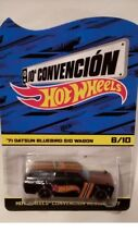 2017 Mexico Hot Wheels Convention Black RR 71 Datsun Bluebird 510 Wagon #6/10!