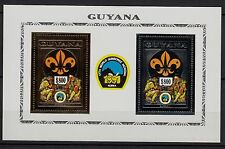 Ga101) Timbre-Stamp GOLD & SILVER Neuf**MNH**TBE GUYANA (WORLD JAMBOREE)