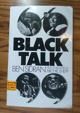 Black Talk by Ben Sidron New Forward by Archie Shepp (Paperback)