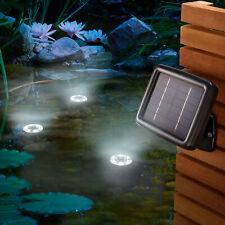 Solar Unterwasserstrahler Gartenteich Teichbeleuchtung Solarlampe esotec 102148
