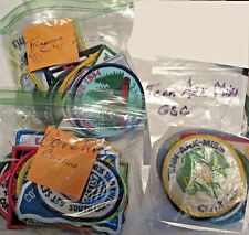 Choose One, 57 Different Girl Scout Council Patches By State: Sc, Tn, Tn-Ar-Ms