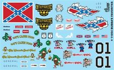 GOFER RACING BUBBAS FAVORITES DECALS SET #2 FOR 1:24 AND 1:25 SCALE MODEL CARS