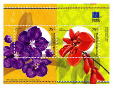 ARGENTINA - Scott 2099 - Bangkok 2000 Stamp Exhibition Flowers S/S - MNH