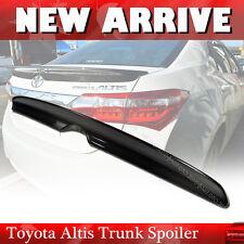 For Toyota Altis Corolla 2014-2016 EUR 4DR Sedan Rear Trunk Spoiler Carbon Fiber