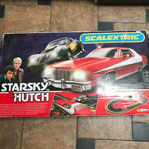 scalextric starsky and hutch advanced track system