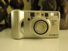 Minolta Zoom 80 QD,35mm P&S Film Camera(38-80mm)