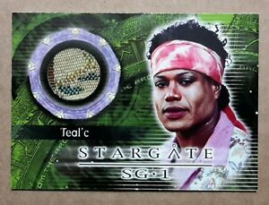 Stargate SG-1 Costume Card - C4 Teal'c costume Material
