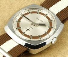 Alexon Vintage TV Dial Hand Winding Mechanical Watch 38mm New Old Stock