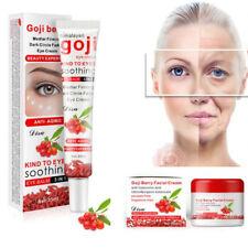 Baya de Goji Crema Facial Ojos Cara Blanqueadora Cuidado Piel Antienvejecimiento