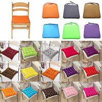 Removable Chair Cushion Seat Pads Dining Kitchen Garden Thick Tie On Home Decor